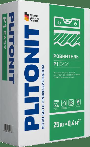 Ровнитель Плитонит Р1 easy 25кг для грубого выравнивания - купить в Санкт-Петербурге, отзывы. ТД «Вимос»