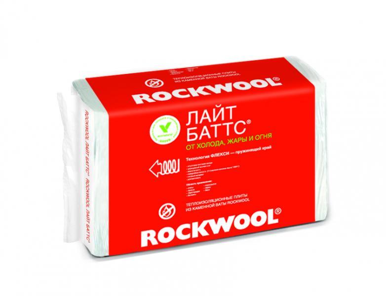 Вата минеральная Rockwool Лайтбаттс пл.6м2 50*600*1000мм 10шт. - купить в Санкт-Петербурге, отзывы. ТД «Вимос»