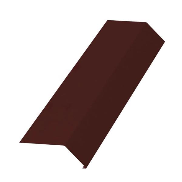 Планка карнизная 100х69х2000х0.45 Коричневый (ПЭ-01-8017) - купить в Санкт-Петербурге. ТД «Вимос»