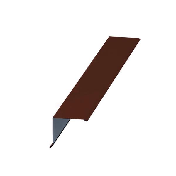 Планка торцевая 95х120х2000х0.45 Коричневый (ПЭ-01-8017) - купить в Санкт-Петербурге. ТД «Вимос»